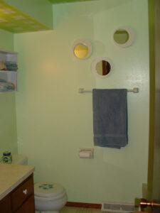 Plaid Bathroom