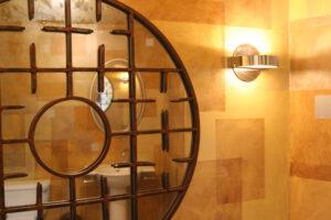 Bronzed Bathroom